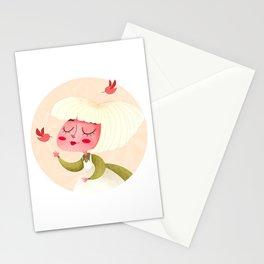 Lady Spring Stationery Cards