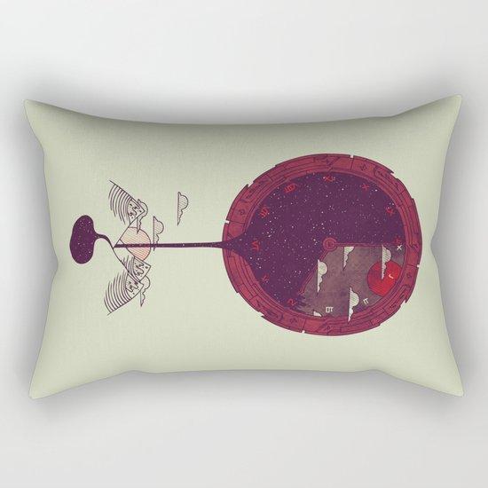 Night Falling Rectangular Pillow