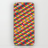 pixel art iPhone & iPod Skins featuring Pixel by Colocolo Design | www.colocolodesign.de