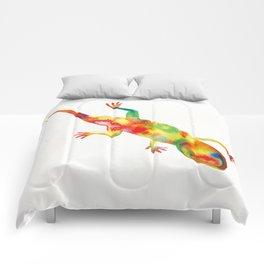 Mr. Lizard 1 Comforters
