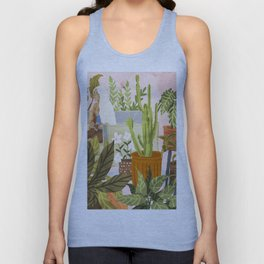 Playing For My Plants Unisex Tank Top