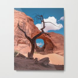 Monument Valley III, Ear of the Wind Metal Print