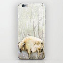 White Buffalo's Hollow iPhone Skin