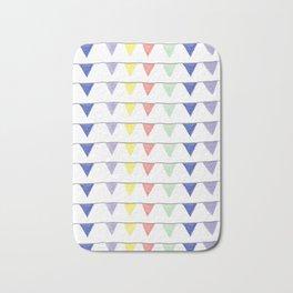 Cheerful pennants Bath Mat