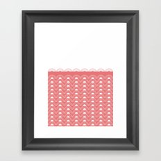 Watermelon Sunset Framed Art Print