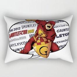 Gauntlet-Con Promotional Image Rectangular Pillow