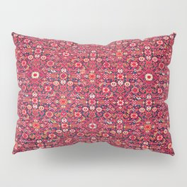 Malayer West Persian Rug Print Pillow Sham