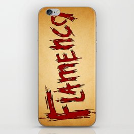 Flamenco iPhone Skin