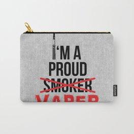 I'm A Proud Vaper (Ex-Smoker) Carry-All Pouch