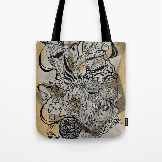Life of Lines Tote Bag