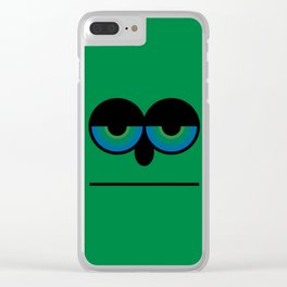 Mister Green Clear iPhone Case