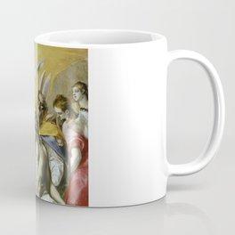 "El Greco (Domenikos Theotokopoulos) ""The Holy Trinity"" Coffee Mug"