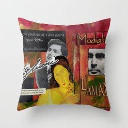 Modigliani Throw Pillow
