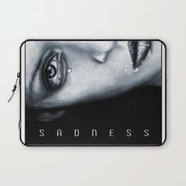 Sadness Laptop Sleeve