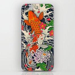 Art of Koi Fish Leggings iPhone Skin