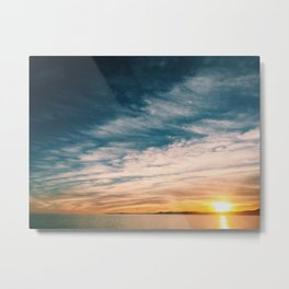 The last sunset Metal Print