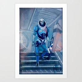 Garrus Art Print