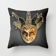 Harlequin Throw Pillow