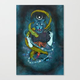 no miracles (full colour) Canvas Print