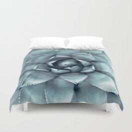 Agave Print, Cactus Print, Succulent Art Duvet Cover