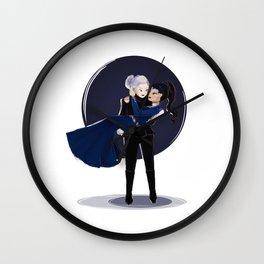 Dark Swan and Evil Queen Wall Clock
