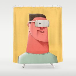 New Reality Shower Curtain