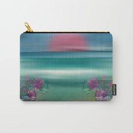 """Summer Beach Seascape"" Carry-All Pouch"