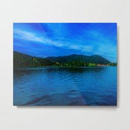 Bavaria Lake Schliersee Metal Print