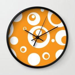 Circles Dots Bubbles :: Marmalade Wall Clock