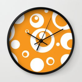 Circles Dots Bubbles :: Marmalade Wall Clock