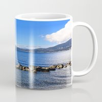 stanley kubrick Mugs featuring Stanley Park by Chris Root