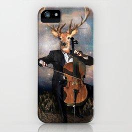 The Musican - Vinolocello iPhone Case