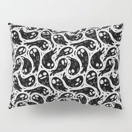 Good Lil' Ghost Gang in Grey Pillow Sham
