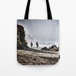 Surfer Boys, Leucadia, California Tote Bag