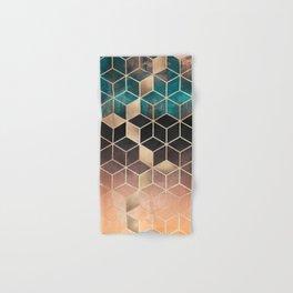 Ombre Dream Cubes Hand & Bath Towel