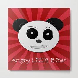 Angry Little Bear 1 Metal Print