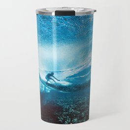 Wave Series Photograph No. 24 - Beneath the Surface Travel Mug