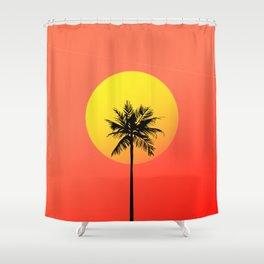 Cali Vice Shower Curtain