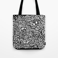 Detached Retina Tote Bag