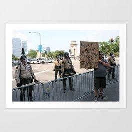 dystopia USA!!! Art Print