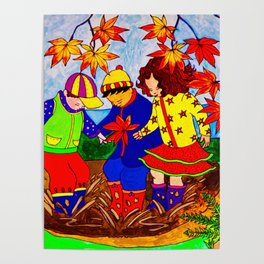 Splashy Puddle Jumpers Poster