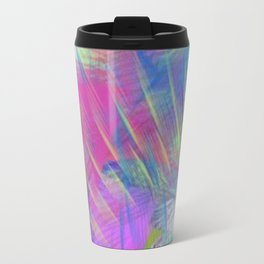 Colorful Curb Appeal Abstract Travel Mug