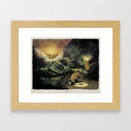 World At War - 'Cookout' Framed Art Print