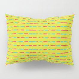"""Savage"" Pattern - Morse Code - Secret Message Pillow Sham"