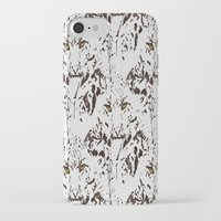 snow leopard iPhone & iPod Cases featuring Snow Leopard by lillianhibiscus