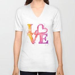 A bit of LOVE Unisex V-Neck