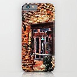 River Restaurant 2 iPhone Case
