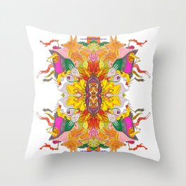 Free Psych and Mirrors - Antonio Feliz Throw Pillow