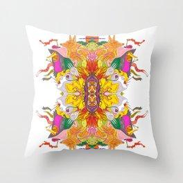 Free Psych and Mirrors - Antonio Feliz Throw Pillow