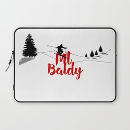 Ski at Mt. Baldy Laptop Sleeve